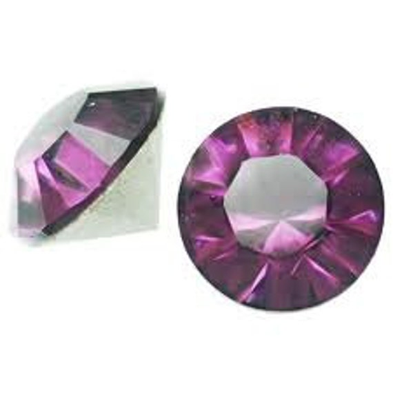 Amethyst Purple Swarovski Crystal Chaton pointed back 4mm pp31 series 1028 gemstone jewels DIY 1028 Rhinestone Beads DIY jewelry repair