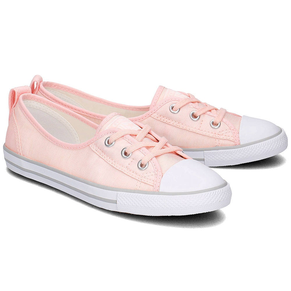 Baby Pink Converse Low Top Slip On