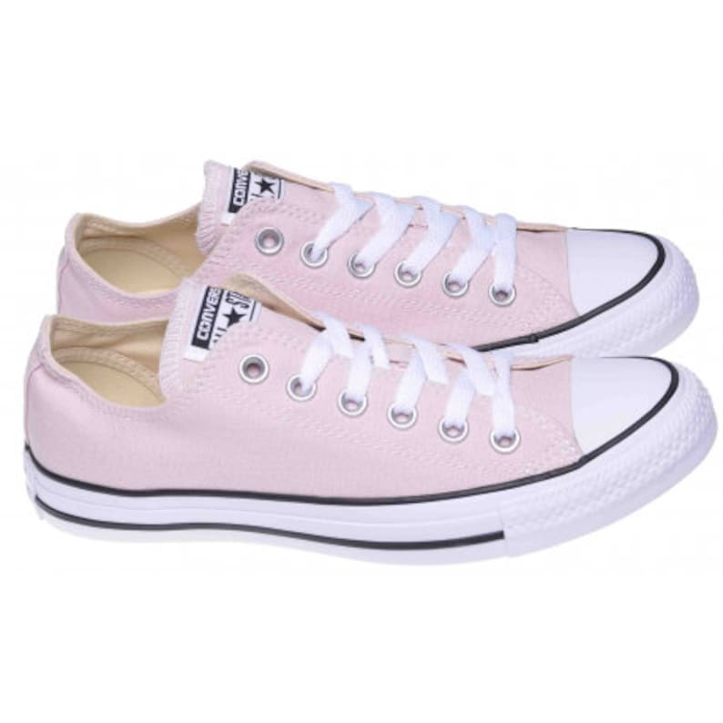 219108d12e65 Baby Pink Converse Petal Blush Rose Custom Low Top w
