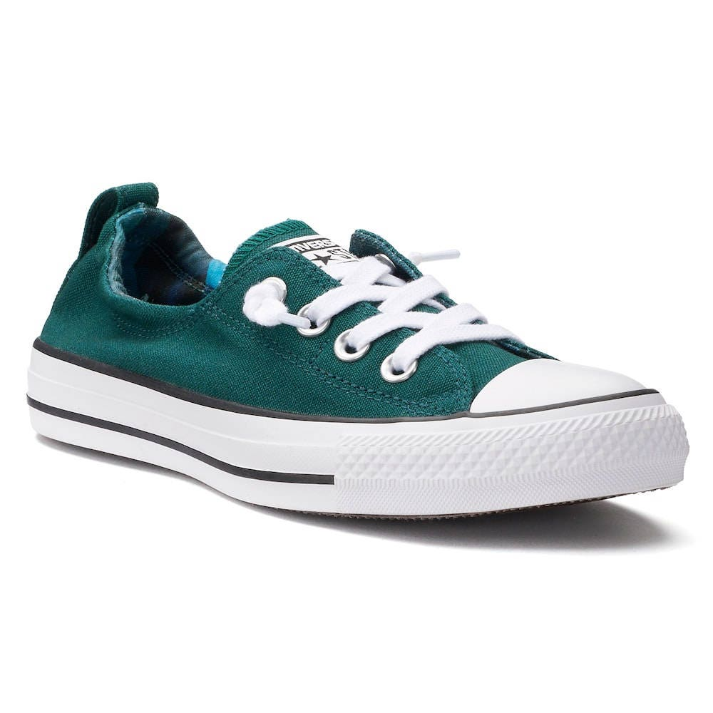 8b9ec718f7db Green Converse Low Top Shoreline Teal Turquoise Blue Wedding Bling w  Swarovski  Crystal Rhinestone Chuck Taylor All Star Sneakers Shoes