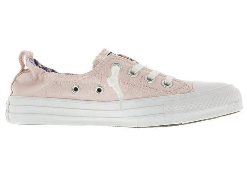 3ff2f96d52e6d5 Pink Converse Shoreline Slip on Boat Blush Rose Petal Wedding