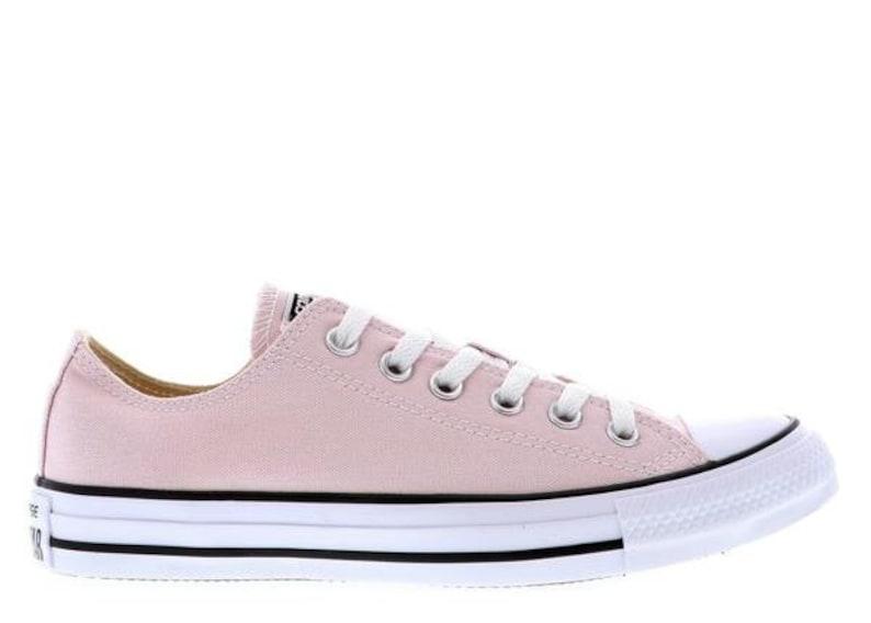 839b3af7d71c57 Baby Pink Converse Petal Blush Rose Custom Low Top w