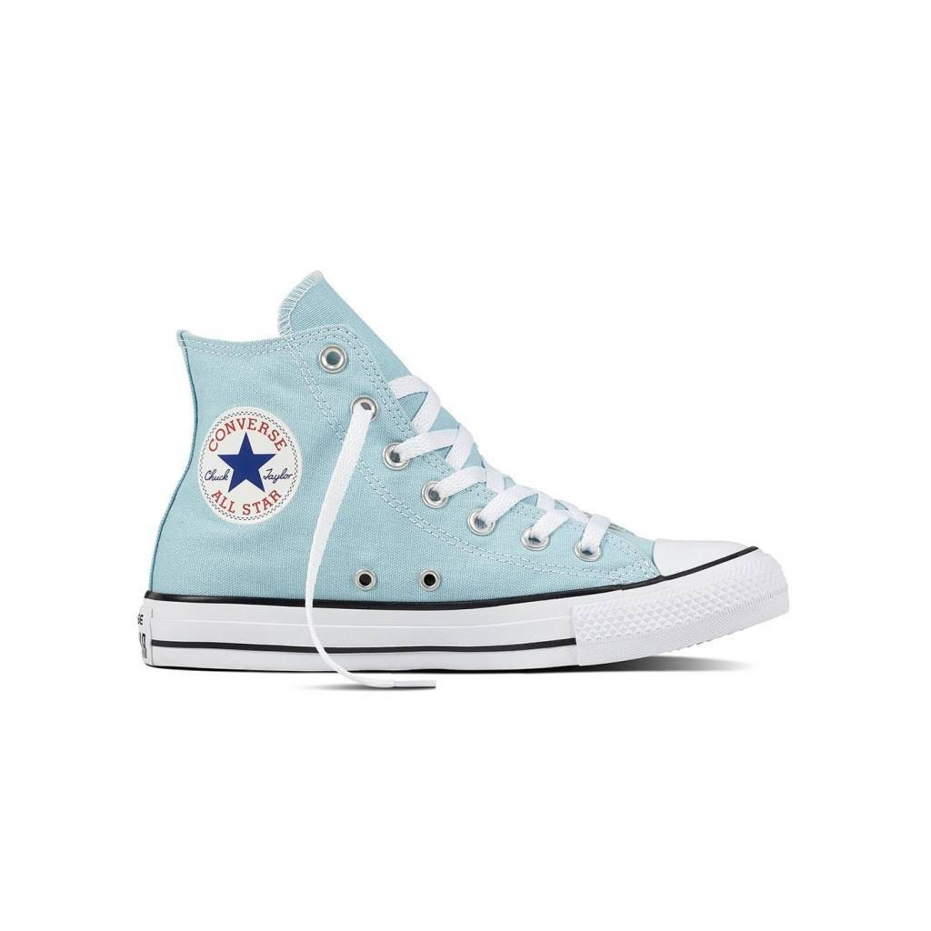 5e4e59691715 Baby Blue Converse High Top Wedding Ocean Bliss Bride Powder w  Swarovski  Crystal Kicks Bridal Bling Chuck Taylor All Star Sneakers Shoes