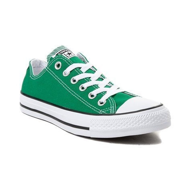 4f1675447050 Amazon Green Converse Forest Kelly Low Top Bling Custom w