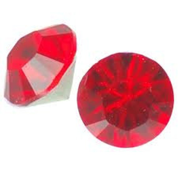 Red Light Siam Swarovski Crystal pointed back Chaton 24 pieces foiled round pp24 3mm OR pp31 4mm 1088 Rhinestone jewel Bead  Jewelry repair