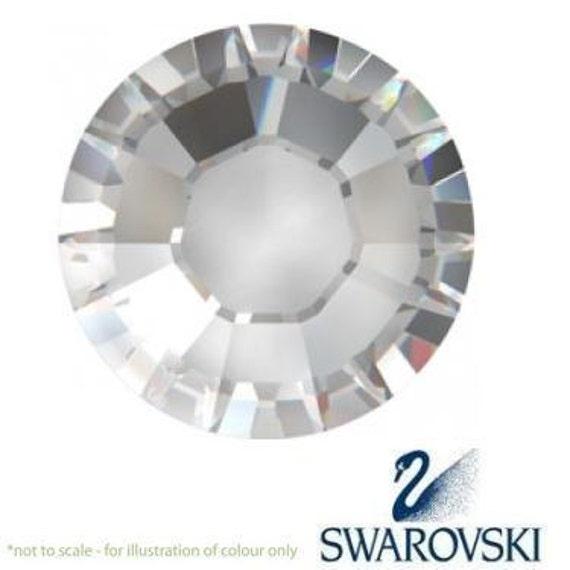 50 pc Swarovski Crystal Flatback Sale!  Crystal Clear 4mm ss16 gemstones 2028 Rhinestone Bling