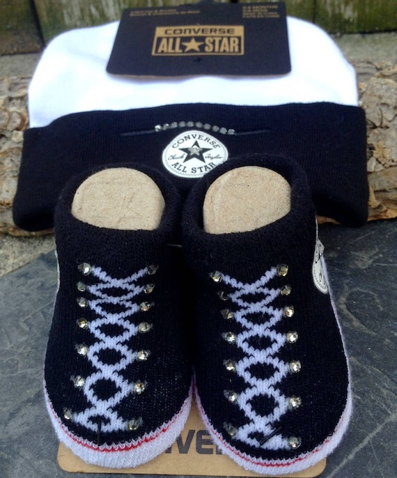 Baby Converse Shower Gift Infant Girl