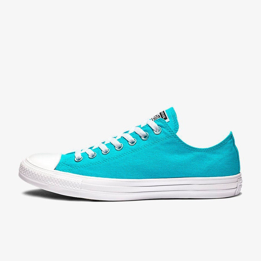 6212937ca7224a Aqua Blue Turquoise Converse Low Stonewash Silver Custom w  Swarovski  Crystal Rhinestone Bling Chuck Taylor All Star Wedding Sneakers Shoes