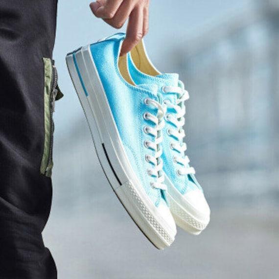 Aqua Blue Converse 70s Premium Low Top