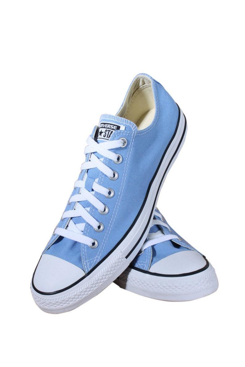 f32930e1093e Blue Converse Pioneer Periwinkle Robin Egg Low Top Wedding