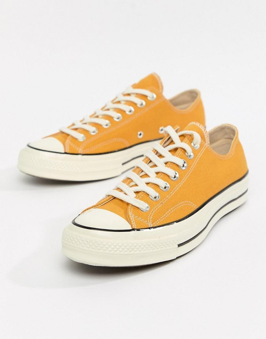 477cb5cd668b8 Yellow Converse 70s Low Top Summer Sunflower Mustard w/ Swarovski ...