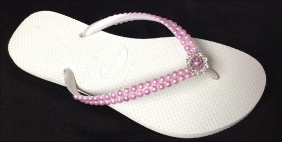 08678071e7e2de Purple Pearl Flip Flops White Havaianas Slim Violet Light