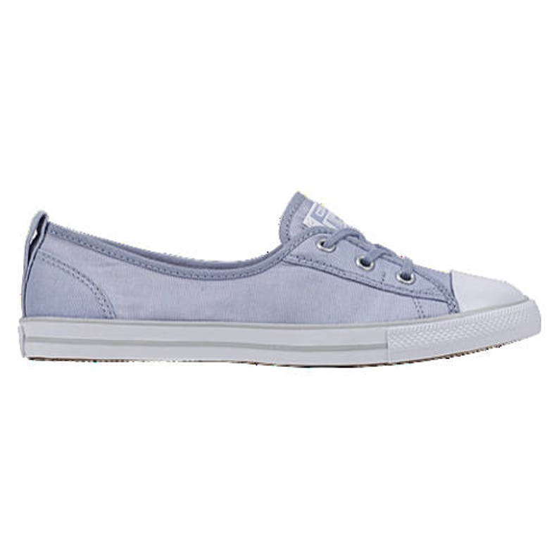 31898f32f9da Baby Blue Converse Low Top Slip On Ballet flat Sky Wedding
