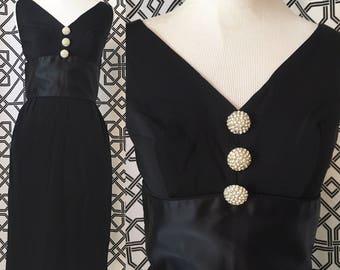 1960s Holly Golightly Wiggle Dress