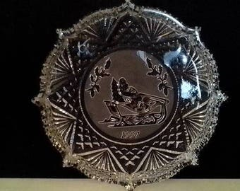 Waterford Crystal Christmas Dish