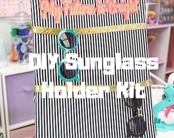 DIY Sunglass holder KIT- Free shipping!