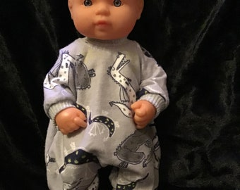 Dolls clothes made to fit 32cm Baby Alive Dolls size Small All In One Suit