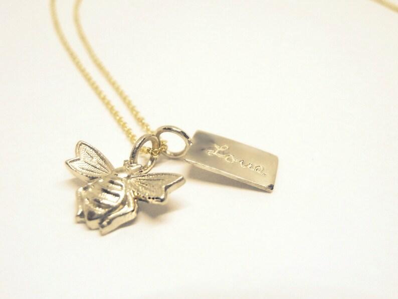 1f967099fccf Collar Tiny Wish Love con Mini Corazon de oro