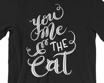 Cute Cat Shirt Cat Gifts Cat TShirt Cat T Shirt Funny Cat Graphic Tee Cat Love Cat Lover Gift I Love Cats Gifts Cat Tee Hand Lettered Shirt