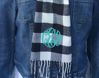 Winter Scarf - Personalized Scarf - Free Shipping