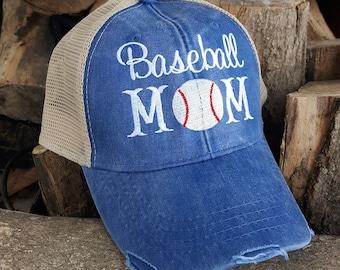 225dd3ca Baseball mom hat | Etsy