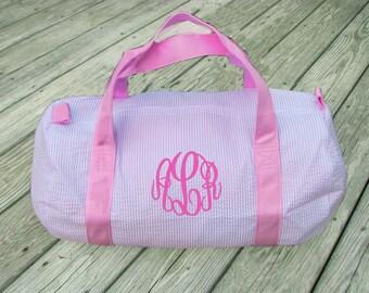 552dff1f5a Seersucker Duffle Bag