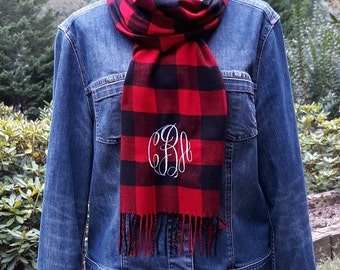 Scarf  - Monogrammed Scarves - Personalized Scarf