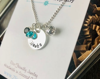 Team Volleyball Necklace,  Team Gift, Volleyball, Gift for her