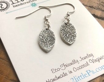 READY to SHIP - SALE - I am the Vines Handcrafted Earrings, Handmade Jewely, Whimsy Jewelry, Gift for Her