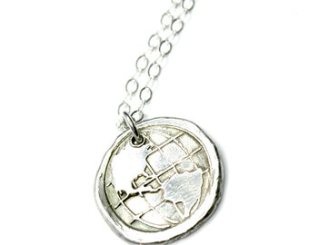 Love the World Jewelry Globe One World Gift for her Love the World