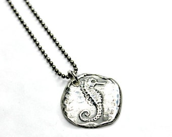 Seahorse Necklace Beach Lover Gift Gift for Her Summer Necklace Sea Life