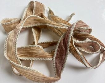 Silk Wrap Ribbon, Silk Ribbon Wrap ~ Desert Silk Wrap Ribbon - One Ribbon