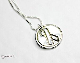 Awareness Jewelry Awareness Ribbon Gift for Her Awareness Necklace