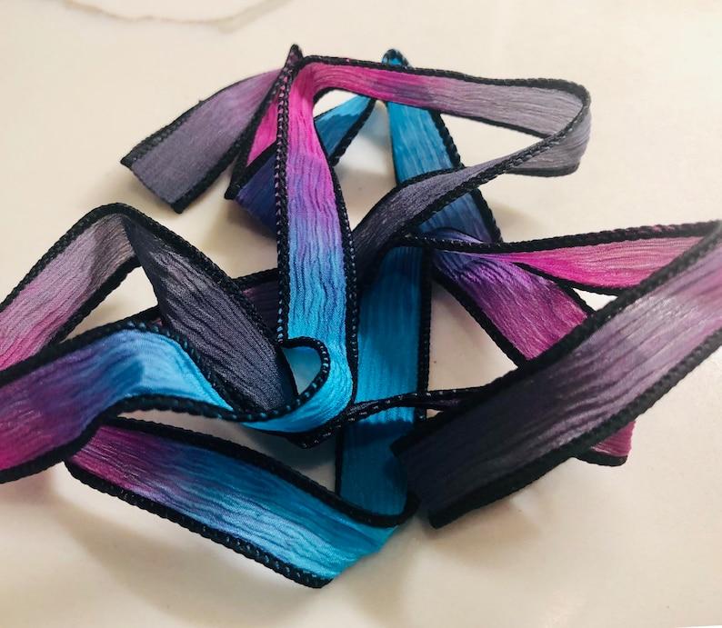 Silk Wrap Ribbon Silk Ribbon Wrap  Treasure Box Silk Wrap image 0