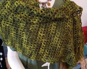 "Moss and Ferns"" shawl"