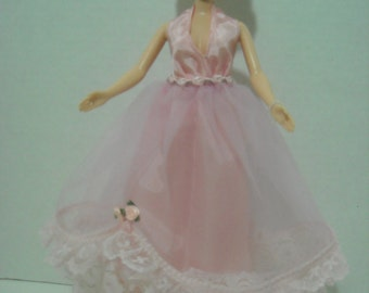 Barbie Pink Chiffon Princess Gown with Accessories