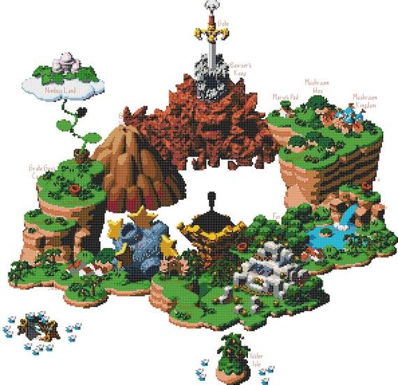 super mario rpg mushroom kingdom