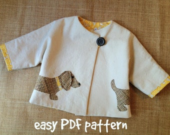 Downloadable PDF sewing patterns for girls and by