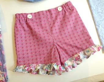 Simply Sweet Shorts - Girl's Short PDF Pattern. Girl PDF Sewing Pattern. Sizes 1-8