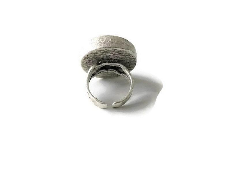 Gemstone Jewelry Bohemian Handmade Jewelry Silver Boho Ring Boho Chic Bohemian Ring Bohemian Jewelry Purple Gemstone Ring Stone Ring