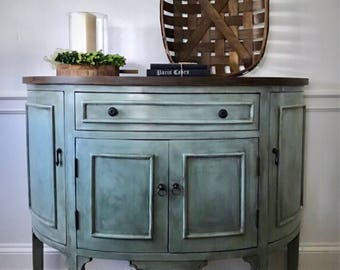 Merveilleux SOLD Entry Table, Farmhouse Cabinet, Entry Cabinet, Painted Console,  Console Table, Pick Up Only