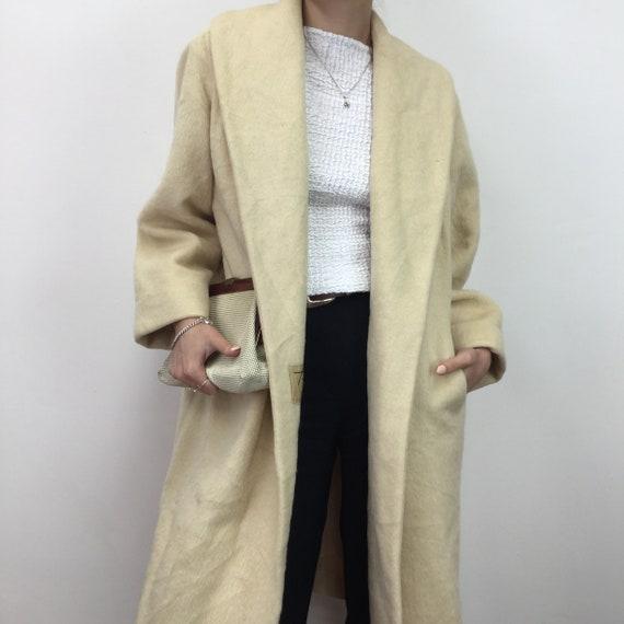 Vintage 60's 'Lilli Ann' Ivory Coat