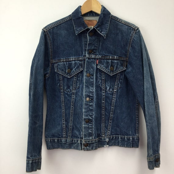 "Vintage Levi's ""Big E"" Denim Jacket"
