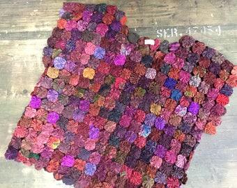 Thai Silk Rosette Top
