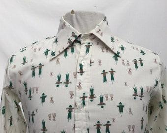 Scarecrow Print Shirt