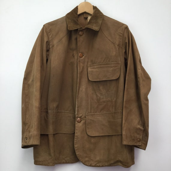 Vintage Rare 1920's Duxbak Utica Hunting Jacket - image 1
