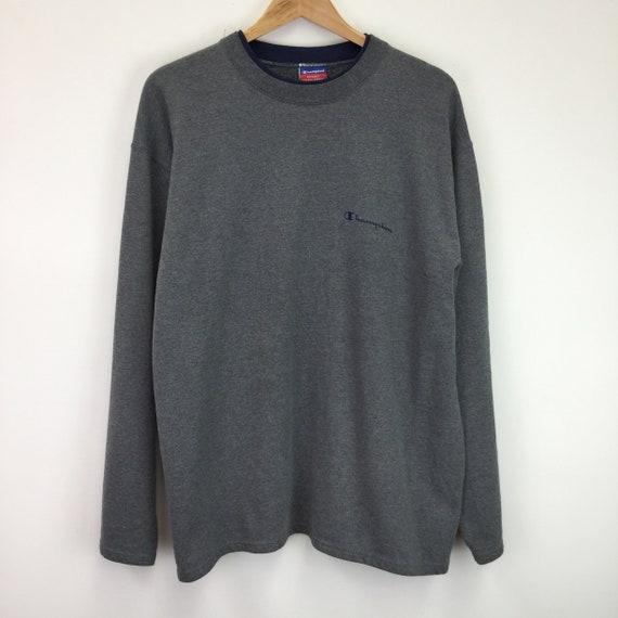 Vintage Grey 'Champion' Sweatshirt