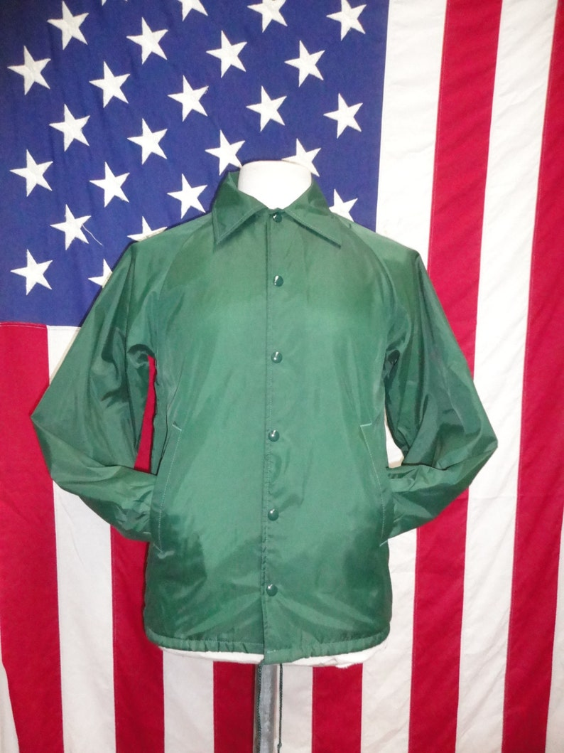 Usa Jacke Sportbekleidung Uni In Etsy 80 Shell Hergestellt Muschel PT56qSwn