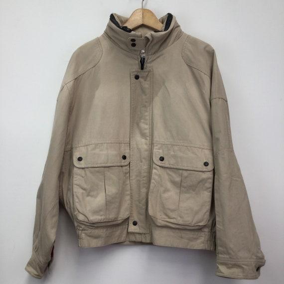 Vintage 1980's YSL Canvas Jacket