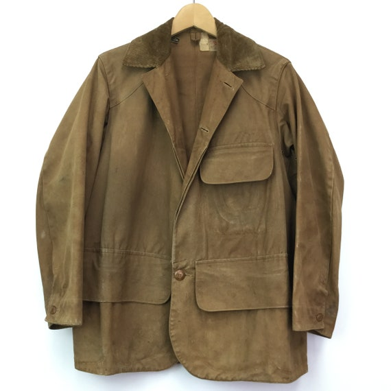 Vintage Rare 1920's Duxbak Utica Hunting Jacket - image 8
